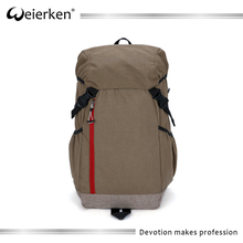 weierken korean multi-purpose laptop backpack bag with high quality