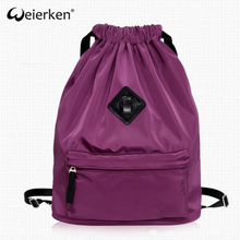 Good Quality Durable Custom nylon drawstring backpack bag