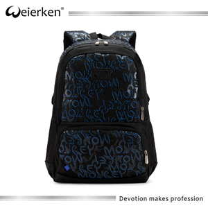 Stylish portable african printed functional men sport backpack bag