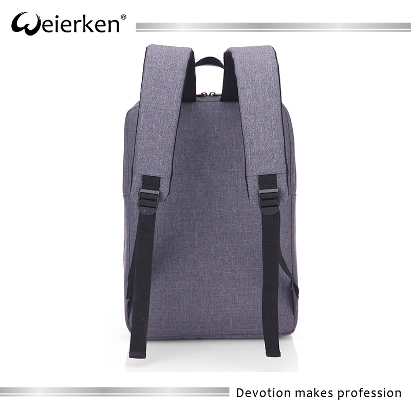 online shopping solid color multipocket taobao backpack