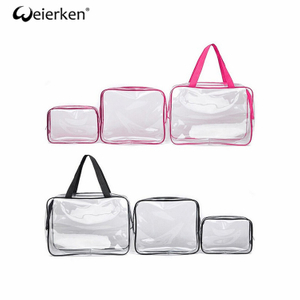 Large Capacity Convenient PVC Cosmetic Bag