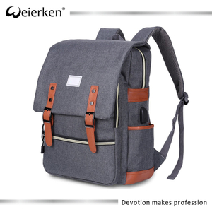 High quality leisure laptop rucksack mochila bags school