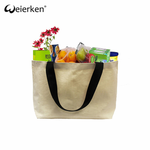 Reusable Reinforced Canvas Shopping Bag