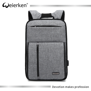 Newest young men business backpack waterproof laptop backpack