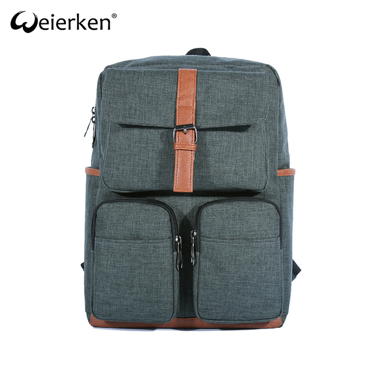 Cheap Simple Design Best Quality Practical Hemp Backpack