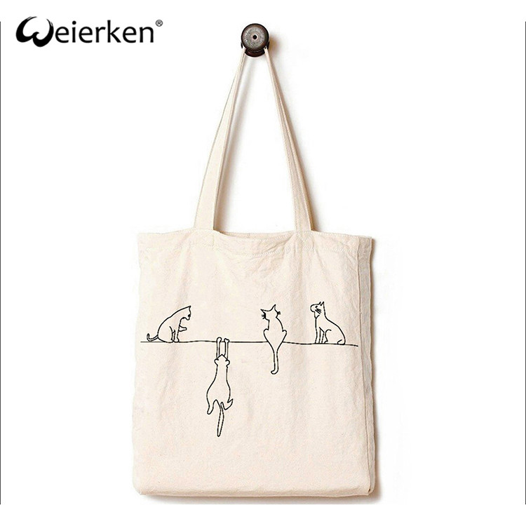 Waterproof Light Weight Cotton Canvas Bag