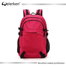 Fashion style soft material nylon backpack for computer