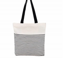 Simple Design Women Handbags Cotton Canvas Tote Bag