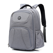 Multi-Functional Travel Large Size Water-Resistant Baby Bag with Insulated Pockets