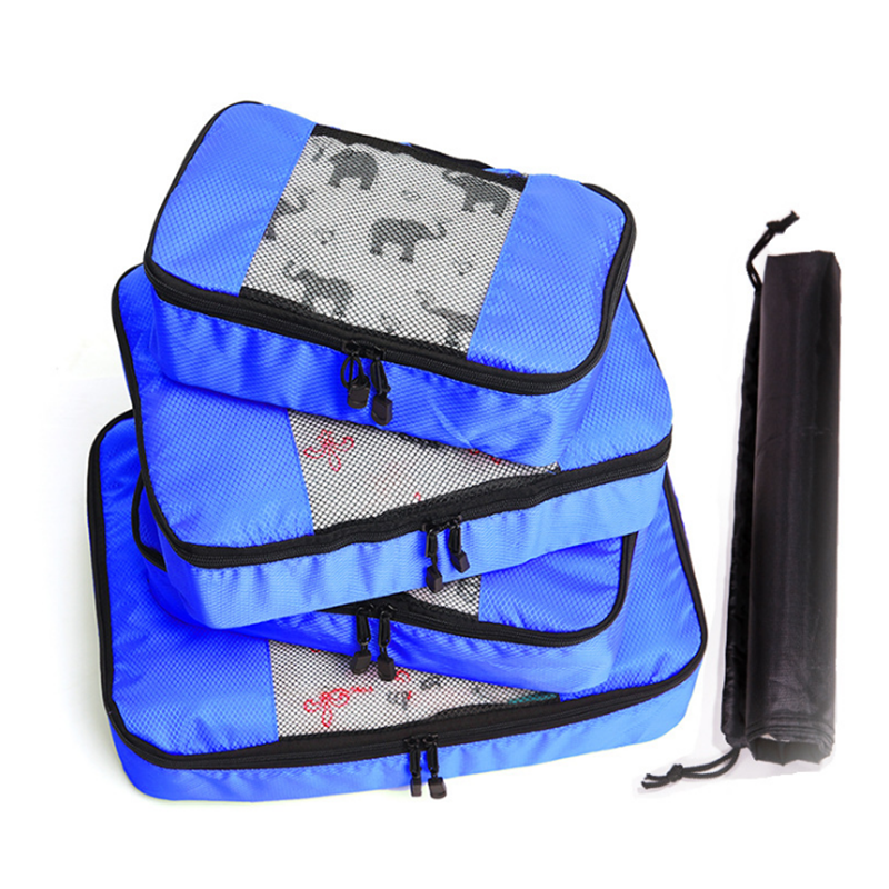 Compression Luggage Packing Cubes 4 Piece Packing Cubes Travel Organizer